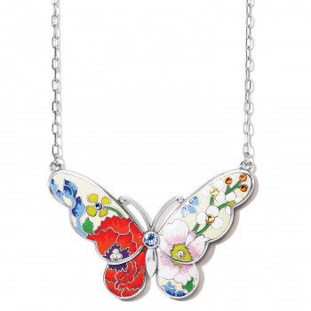 BR JM4703 Blossom Hill Butterfly Necklace