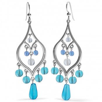 BR JA7693 Prism Teardrop French Wire Earrings