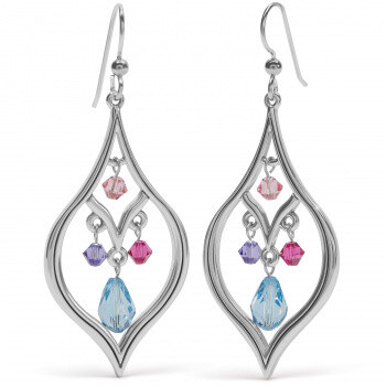 BR JA7683 Prism Lights Drops French Wire Earrings