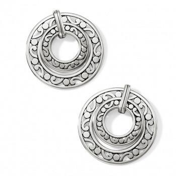 Brighton JA 7290 Contempo Open Ring Post Earrings