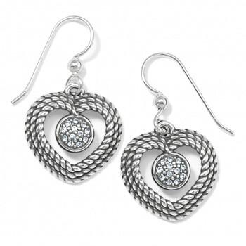BR JA7271 Portuguese Heart Earrings