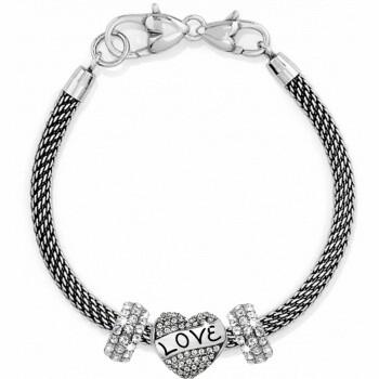 BR D25476 Sparkle Charm Bracelet