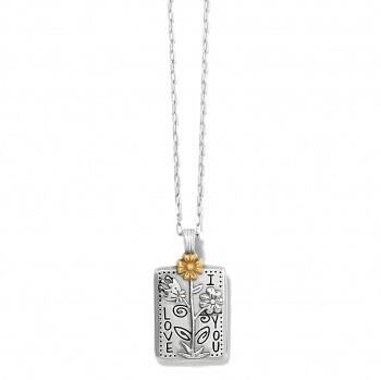 BR JM3913 Give Love Flower Necklace