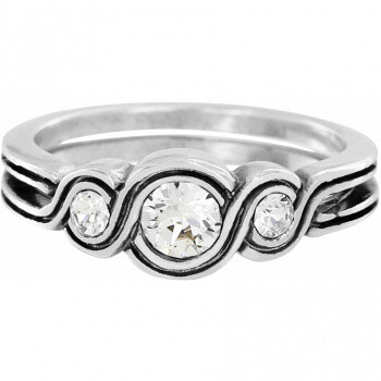 BR J62411 Infinity Sparkle Ring