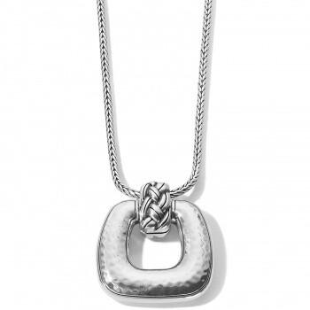 BR JM3480 Interlok Woven Necklace