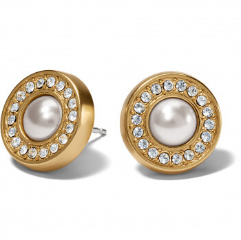 BR JA7131 Meridian Pearl Silver Post Earring