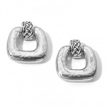 BR JA7040 Interlok Woven Drop Earring