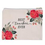 CA PCA008 Best Teacher Ever Pouch