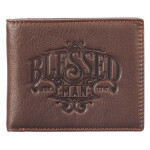 CA WT133 Blessed Man Leather Wallet