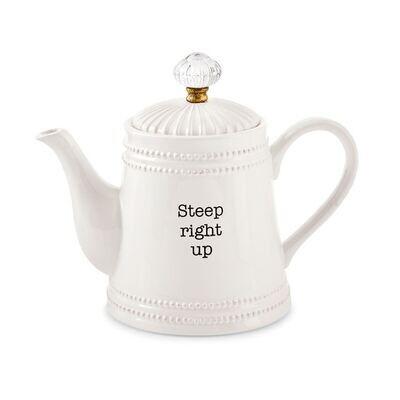 MP Door Knob Tea Pot