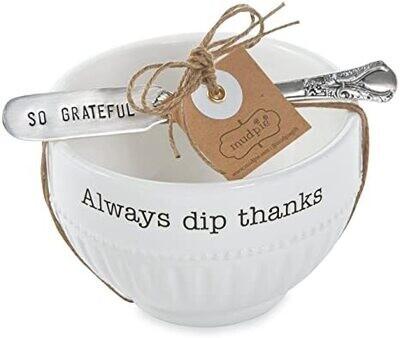 MP Always Thanksgiving Dip Cup Set