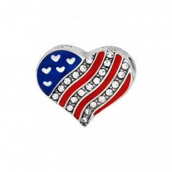 Brighton JC1381 Hearts and Stripes Beads