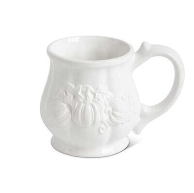 KKI White Pumpkin Mug