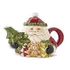 """KKI 8"""" Santa Tea Pot"""