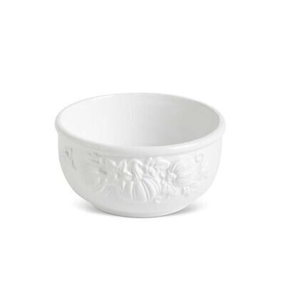 "KKI 6"" White Pumpkin Bowl"