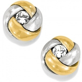 Brighton J21533 Silver Gold Love Me Knot Mini