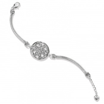 Brighton JF8260 Interlock Medallion Bracelet