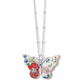Brighton JM4723 Blossom Hill Butterfly Necklace