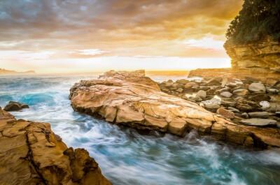 Avoca Beach Sunrise - Acrylic
