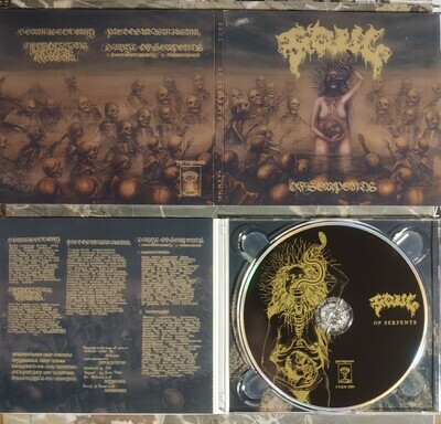 FOUL 'Of Serpents' CD