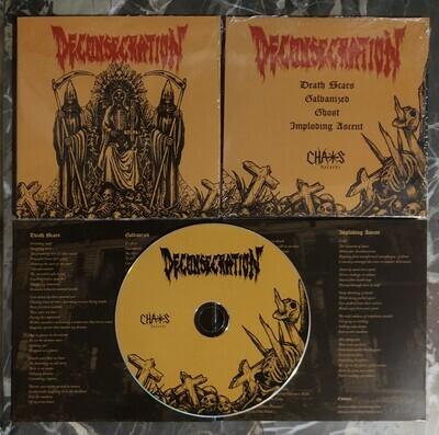DECONSECRATION (US) 'Deconsecration' [CD]