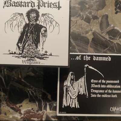BASTARD PRIEST  | Vengeance… Of The Damned CD (Digipak)