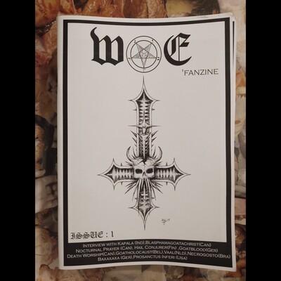 WORSHIP OF ERADICATION (TH)   Zine Issue #1