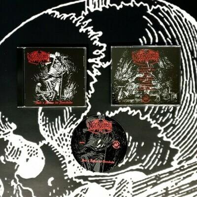 """Necrobode (Por.) """"Sob o Feitiço do Necrobode"""" CD"""
