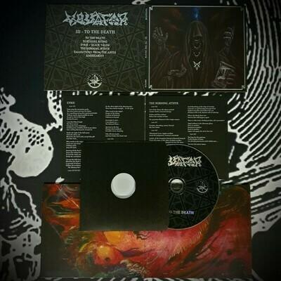 "Vassafor (NZ) ""To the Death"" Mini Gatefold Digipak CD"