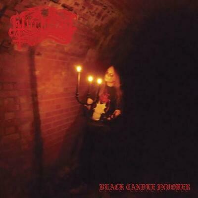 "PERVERTED CEREMONY (BE) / WITCHCRAFT (FIN)""Nighermancie / Black Candle Invoker"" Split [CD]"