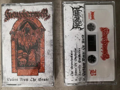 GRAVEHAMMER (MY) 'Voices From The Grave' [MC]