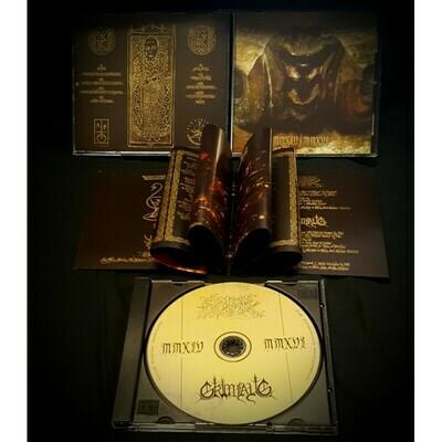"ONIRIK (POR)  / Grimfaug (BEL) ""MMXIV-MMXVI"" Split CD"