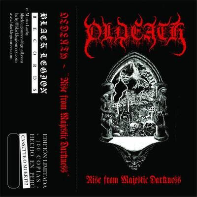 OLDEATH (CL) 'Rise from Majestic Darkness' [MC]