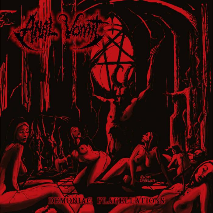 ANAL VOMIT (PER) 'Demoniac Flagellations'  (LP-translucent Red/Black)