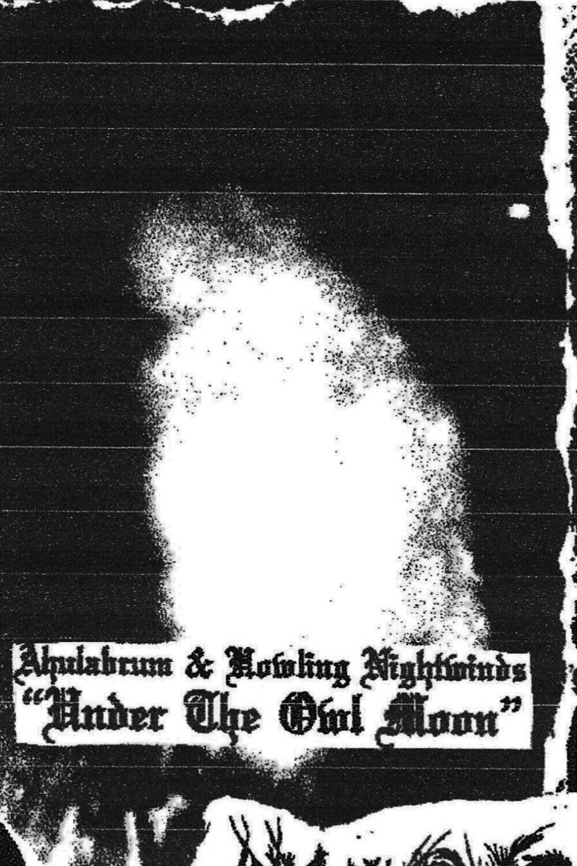 AHULABRUM (US) / HOWLING NIGHTWINDS (AUS) 'Under The Owl Moon'  [MC-split]
