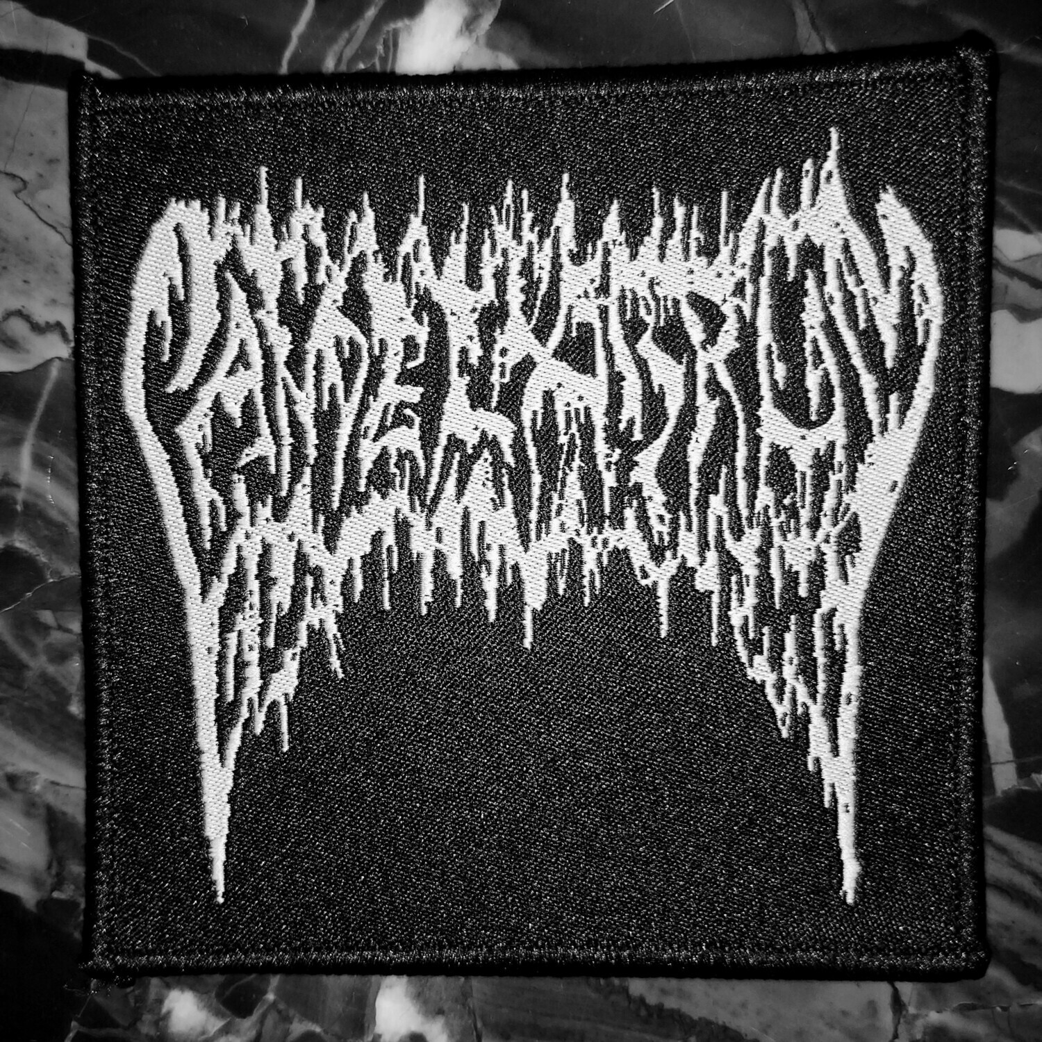 CANDELABRUM Woven Patch
