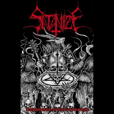 SATANIZE (POR) 'Baphomet Altar Worship'  [MC]
