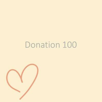 Donation 100
