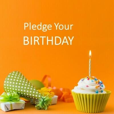 Pledge Your Birthday 100