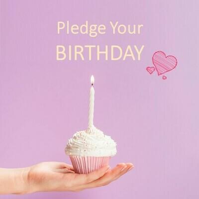 Pledge Your Birthday 50