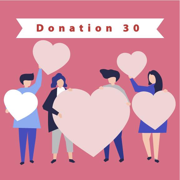 Donation 30