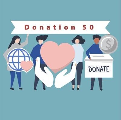 Donation 50