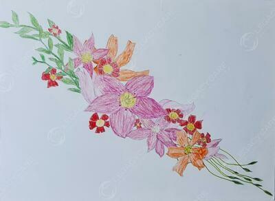 Flower Arrangement for My Family