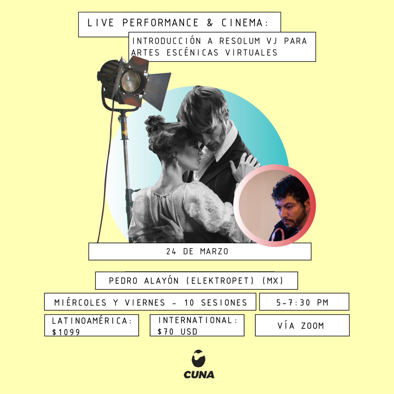Live Performance & Cinema