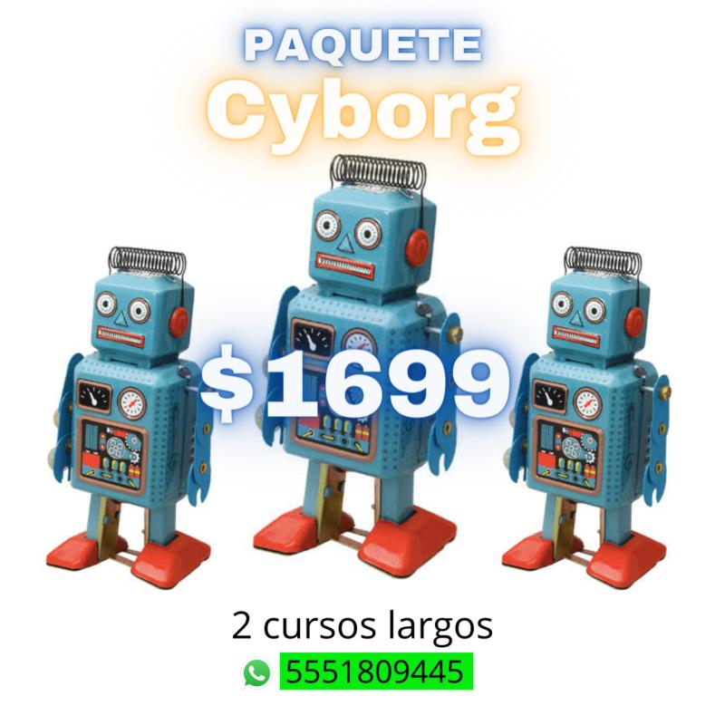 Paquete Cyborg
