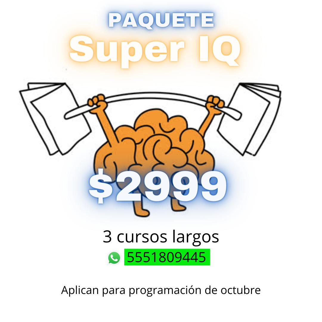 Paquete Super IQ