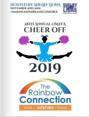 2019 OMYFA Cheer Off DVD