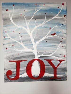 Canvas: Joy Tree