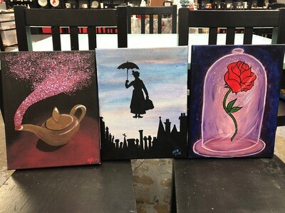 Disney Canvas Bundle