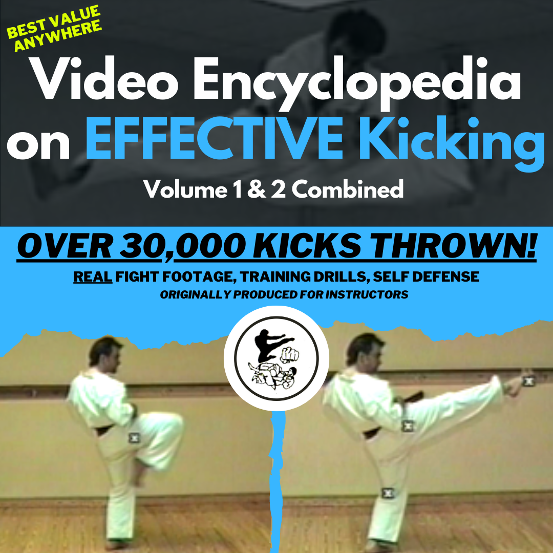 Video Encyclopedia on Effective Kicking: Volume 1 & 2 Combined